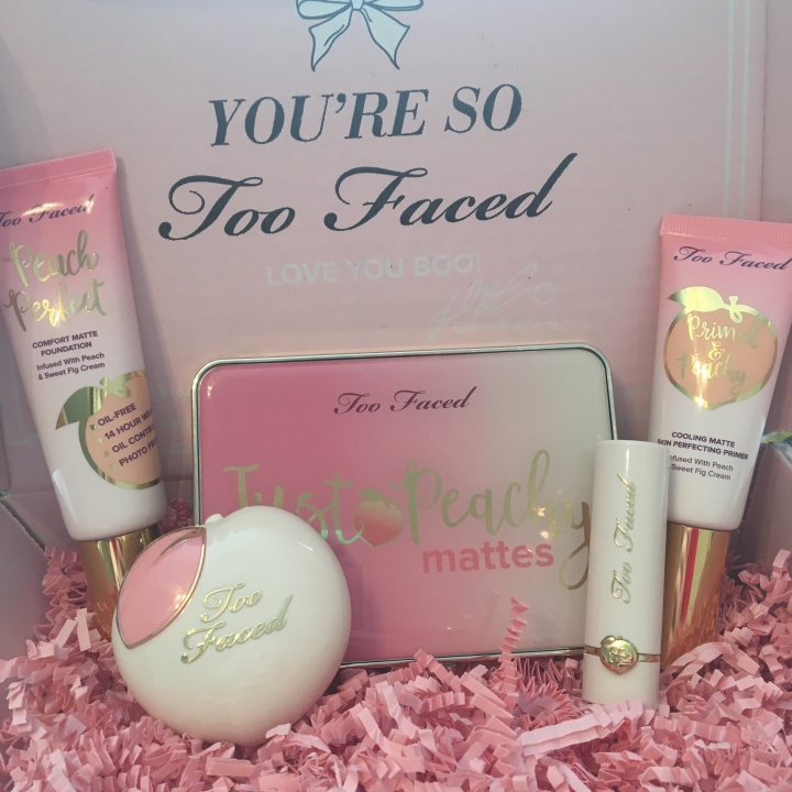 Too Faced Peaches and Cream First Impressions